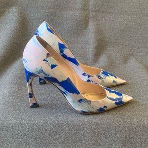 DIOR Songe Painted Pastel Patent Leather Stilettos